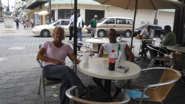Relaxing at El Conde