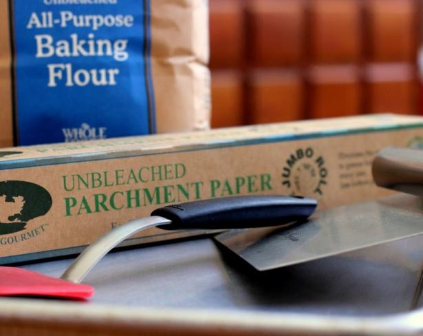 sheet pan bench scraper