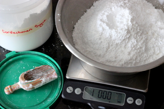 1 kilogram confectioners sugar
