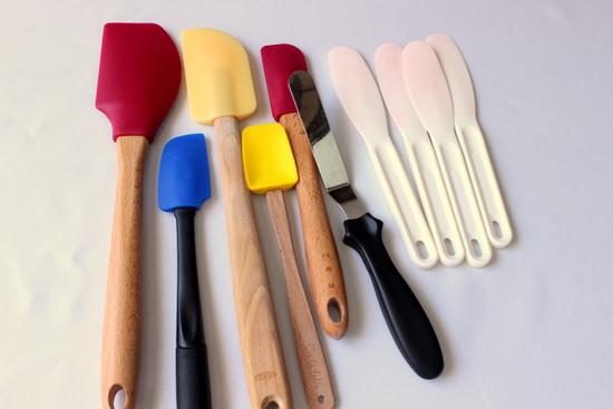 An assortment of spatulas