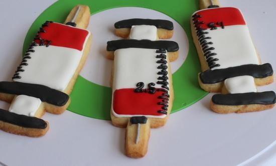 syringe cookies