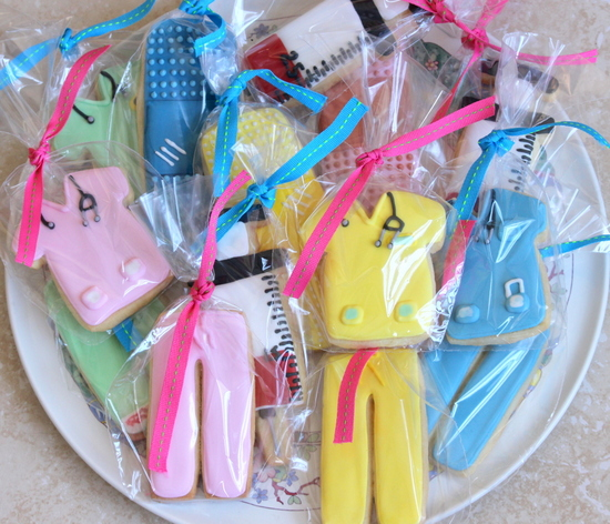 Medical themed cookies