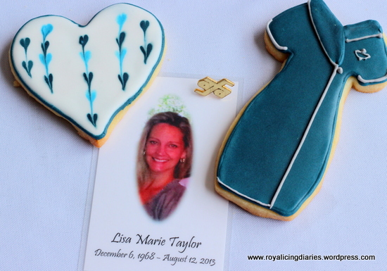 Flight Attendant cookies for a friend