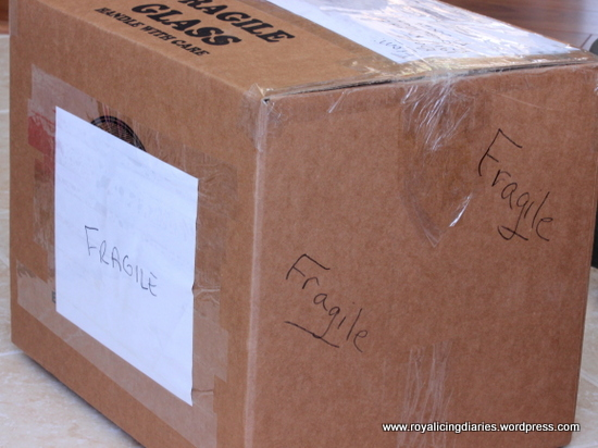 Label the box to ship